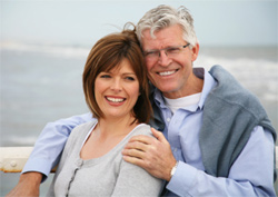 couple over 50 buying life insurance online